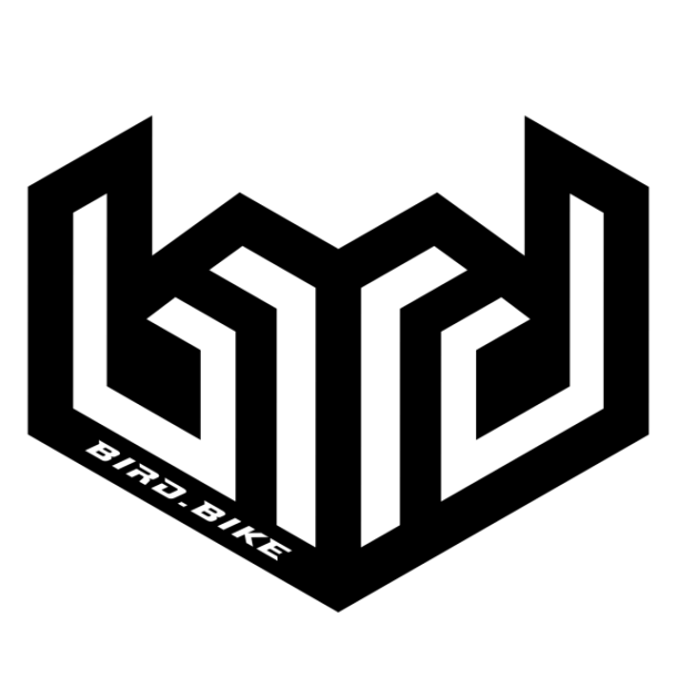 Bird Logo Trans Blk